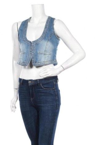 Дамски елек Gina Benotti, Размер M, Цвят Син, 98% памук, 2% еластан, Цена 4,99лв.