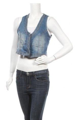 Дамски елек Gina Benotti, Размер L, Цвят Син, 98% памук, 2% еластан, Цена 38,90лв.
