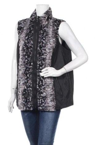 Дамски елек Gina Laura, Размер XL, Цвят Черен, 50% памук, 45% полиамид, 5% метални нишки, Цена 22,05лв.