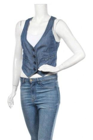 Дамски елек H&M, Размер M, Цвят Син, 99% памук, 1% еластан, Цена 18,48лв.