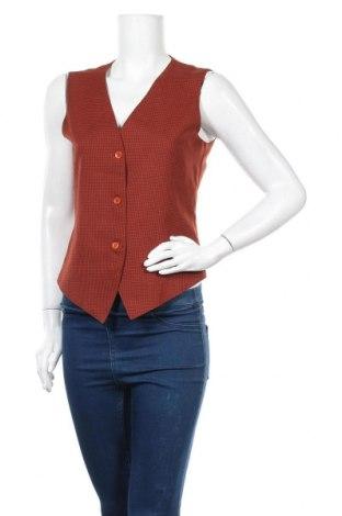 Дамски елек Modern Woman, Размер S, Цвят Оранжев, 85% полиестер, 15% вълна, Цена 16,96лв.