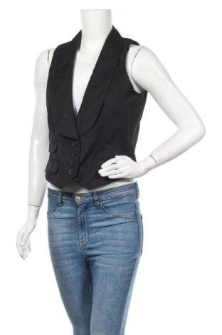 Дамски елек My Own, Размер M, Цвят Черен, 65% полиестер, 35% памук, Цена 3,00лв.