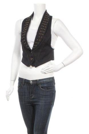 Γυναικείο γιλέκο Only Jeans, Μέγεθος S, Χρώμα Μπλέ, Βαμβάκι, Τιμή 14,91€