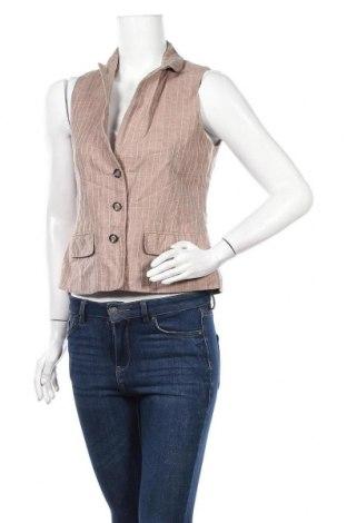 Дамски елек Orsay, Размер M, Цвят Кафяв, 55% лен, 45% памук, Цена 10,40лв.