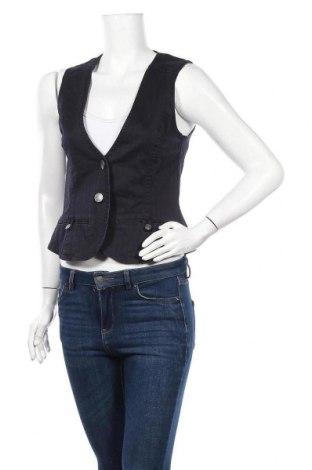 Дамски елек Tom Tailor, Размер S, Цвят Син, 97% памук, 3% еластан, Цена 5,45лв.