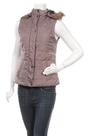 Дамски елек Up 2 Fashion, Размер S, Цвят Кафяв, Полиестер, Цена 22,13лв.