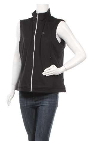 Дамски елек Vittorio Rossi, Размер XL, Цвят Черен, 60% полиестер, 40% памук, Цена 22,94лв.