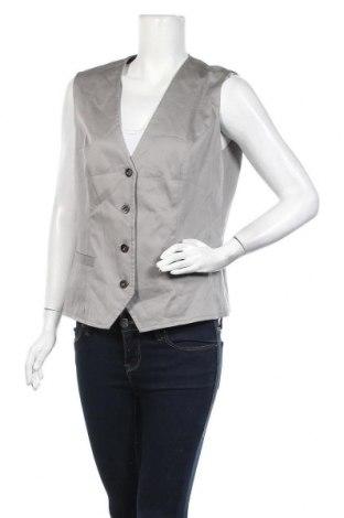 Γυναικείο γιλέκο Women's Selection, Μέγεθος XL, Χρώμα Γκρί, 97% βαμβάκι, 3% ελαστάνη, Τιμή 10,52€