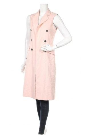 Дамски елек Zara, Размер S, Цвят Розов, Цена 16,91лв.