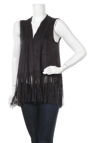 Дамски елек Zara Trafaluc, Размер M, Цвят Черен, Цена 26,88лв.