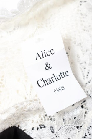 Γυναικεία σαλοπέτα Alice & Charlotte, Μέγεθος XS, Χρώμα Λευκό, 95% πολυεστέρας, 5% ελαστάνη, Τιμή 8,89€