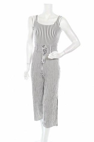 Γυναικεία σαλοπέτα Bershka, Μέγεθος XS, Χρώμα Λευκό, Τιμή 22,73€