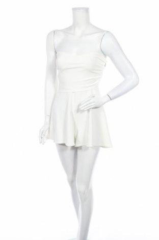 Дамски гащеризон Eight Apparel, Размер S, Цвят Бял, Цена 18,02лв.