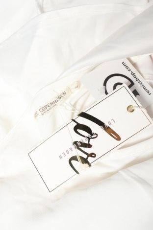 Дамски гащеризон Love Copenhagen, Размер S, Цвят Бял, Полиестер, Цена 59,15лв.