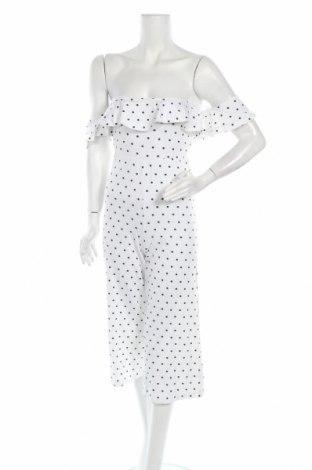 Γυναικεία σαλοπέτα Missguided, Μέγεθος S, Χρώμα Λευκό, 50% πολυεστέρας, 45% βαμβάκι, 5% ελαστάνη, Τιμή 11,37€