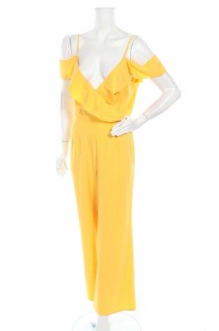 Дамски гащеризон Missguided, Размер S, Цвят Жълт, Цена 23,00лв.