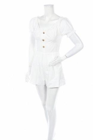 Дамски гащеризон Missguided, Размер S, Цвят Бял, Цена 21,00лв.