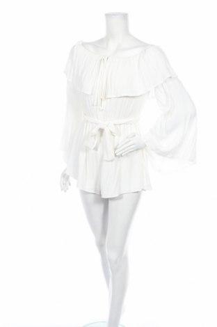 Дамски гащеризон Missguided, Размер S, Цвят Бял, Вискоза, Цена 16,80лв.