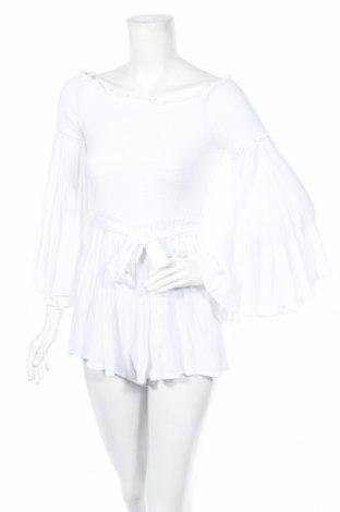 Γυναικεία σαλοπέτα Missguided, Μέγεθος S, Χρώμα Λευκό, Τιμή 12,99€