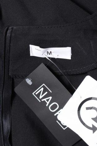 Дамски гащеризон Naoko, Размер M, Цвят Черен, 60% полиестер, 40% вискоза, Цена 20,06лв.