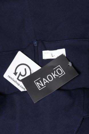 Γυναικεία σαλοπέτα Naoko, Μέγεθος L, Χρώμα Μπλέ, 70% βισκόζη, 30% πολυεστέρας, Τιμή 13,95€