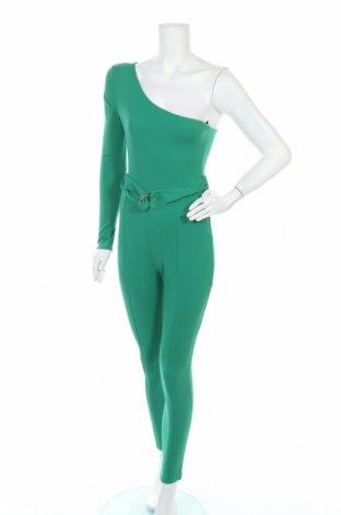Дамски гащеризон Top Fashion, Размер XS, Цвят Зелен, Цена 11,80лв.