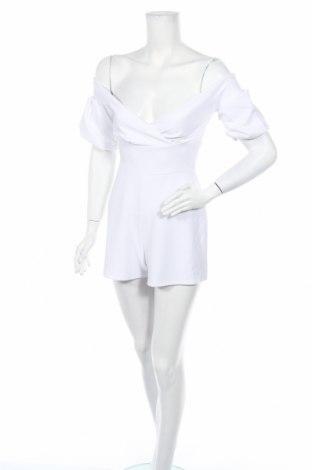 Дамски гащеризон Top Fashion, Размер XS, Цвят Бял, Цена 17,60лв.
