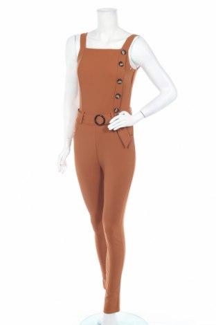 Γυναικεία σαλοπέτα Vanille & Chocolat, Μέγεθος XS, Χρώμα Καφέ, 60% πολυεστέρας, 35% βισκόζη, 5% ελαστάνη, Τιμή 16,73€
