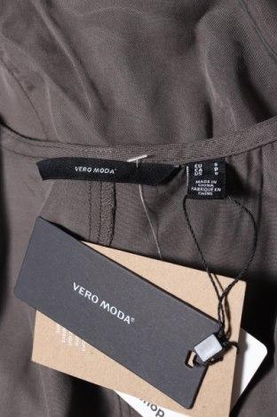 Дамски гащеризон Vero Moda, Размер S, Цвят Сив, Лиосел, Цена 23,60лв.