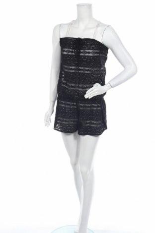 Дамски гащеризон Victoria's Secret, Размер L, Цвят Черен, 97% полиамид, 3% еластан, Цена 17,01лв.