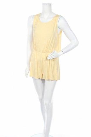 Γυναικεία σαλοπέτα Vila, Μέγεθος M, Χρώμα Κίτρινο, 95% βισκόζη, 5% ελαστάνη, Τιμή 14,74€
