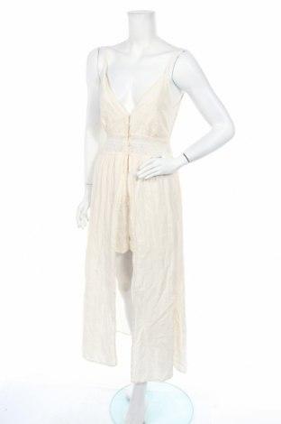 Γυναικεία σαλοπέτα Zara, Μέγεθος M, Χρώμα Εκρού, 20% πολυαμίδη, 80% βαμβάκι, Τιμή 18,54€