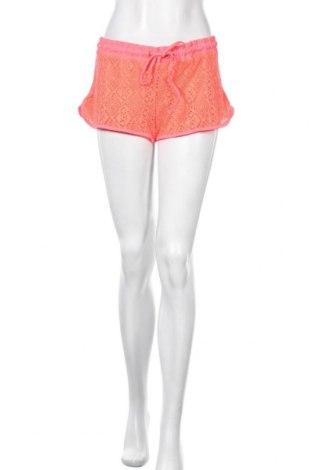 Γυναικείο κοντό παντελόνι, Μέγεθος L, Χρώμα Ρόζ , 95% πολυεστέρας, 5% ελαστάνη, Τιμή 9,87€