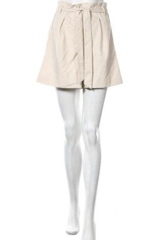 Γυναικείο κοντό παντελόνι Aware by Vero Moda, Μέγεθος S, Χρώμα  Μπέζ, Πολυεστέρας, Τιμή 18,95€