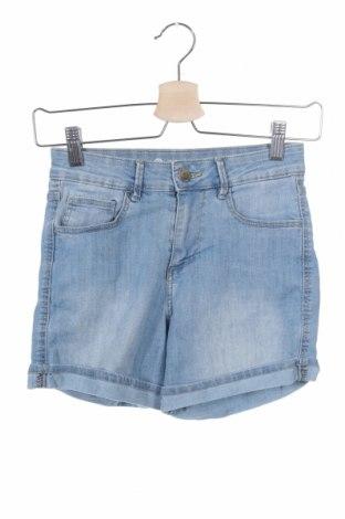 Γυναικείο κοντό παντελόνι Cubus, Μέγεθος XS, Χρώμα Μπλέ, 77% βαμβάκι, 2% πολυεστέρας, 2% ελαστάνη, Τιμή 8,28€