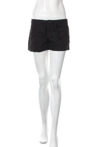 Γυναικείο κοντό παντελόνι I Love H81, Μέγεθος M, Χρώμα Μαύρο, 54% λινό, 46% βαμβάκι, Τιμή 5,23€