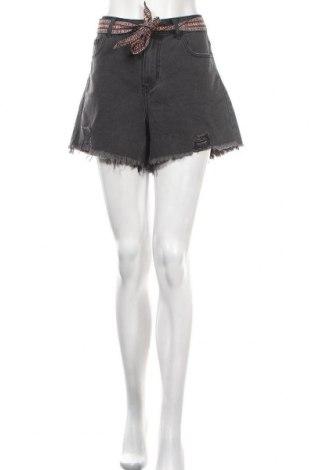 Γυναικείο κοντό παντελόνι Jdy, Μέγεθος M, Χρώμα Γκρί, 70% βαμβάκι, 29% πολυεστέρας, 1% βισκόζη, Τιμή 10,91€