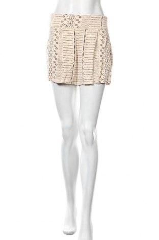 Γυναικείο κοντό παντελόνι Noa Noa, Μέγεθος S, Χρώμα  Μπέζ, 96% βισκόζη, 4% ελαστάνη, Τιμή 44,42€