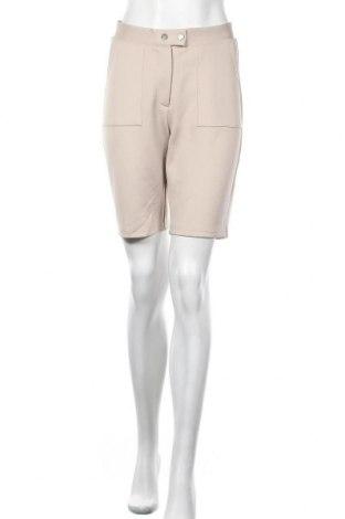 Γυναικείο κοντό παντελόνι Noisy May, Μέγεθος M, Χρώμα  Μπέζ, 96% πολυεστέρας, 4% ελαστάνη, Τιμή 13,04€