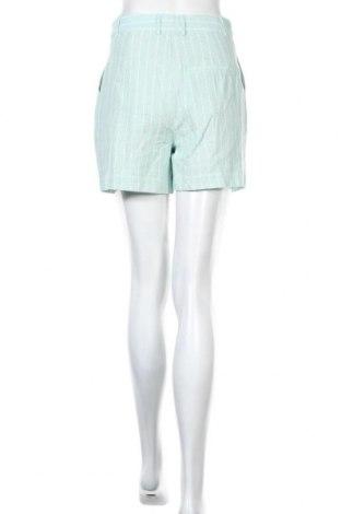 Γυναικείο κοντό παντελόνι ONLY, Μέγεθος S, Χρώμα Μπλέ, 70% βαμβάκι, 30% λινό, Τιμή 15,54€