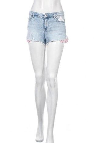 Дамски къс панталон ONLY, Размер S, Цвят Син, 99% памук, 1% еластан, Цена 22,40лв.