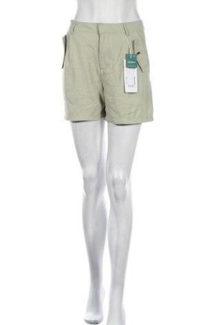 Γυναικείο κοντό παντελόνι ONLY, Μέγεθος S, Χρώμα Πράσινο, 93% βισκόζη, 7% πολυεστέρας, Τιμή 18,95€