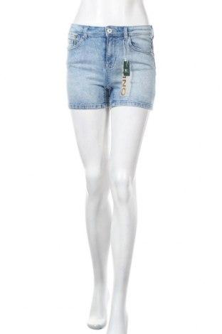Γυναικείο κοντό παντελόνι ONLY, Μέγεθος S, Χρώμα Μπλέ, 98% βαμβάκι, 2% ελαστάνη, Τιμή 15,16€