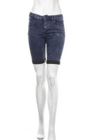 Γυναικείο κοντό παντελόνι Pieces, Μέγεθος M, Χρώμα Μπλέ, Τιμή 11,59€