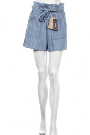 Γυναικείο κοντό παντελόνι Vero Moda, Μέγεθος S, Χρώμα Μπλέ, Βαμβάκι, Τιμή 18,95€