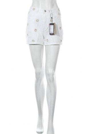Γυναικείο κοντό παντελόνι Vero Moda, Μέγεθος S, Χρώμα Λευκό, Βαμβάκι, Τιμή 15,31€
