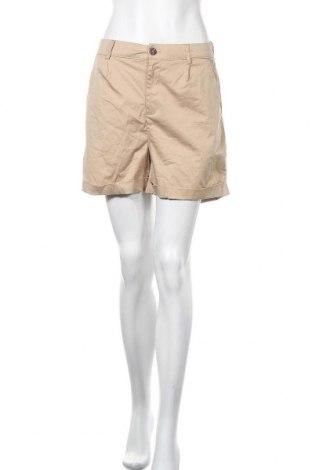 Γυναικείο κοντό παντελόνι Vero Moda, Μέγεθος M, Χρώμα Καφέ, 98% βαμβάκι, 2% ελαστάνη, Τιμή 13,89€