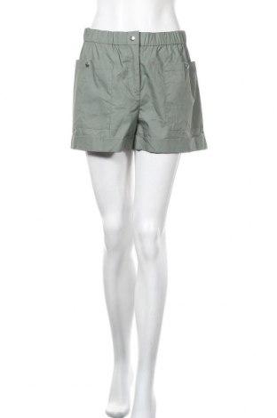 Γυναικείο κοντό παντελόνι Vero Moda, Μέγεθος M, Χρώμα Πράσινο, Βαμβάκι, Τιμή 14,65€