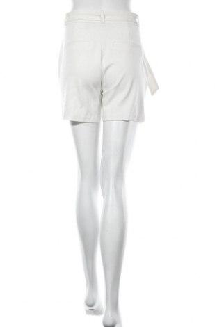 Γυναικείο κοντό παντελόνι Vero Moda, Μέγεθος S, Χρώμα Λευκό, 65% βισκόζη, 30% πολυαμίδη, 5% ελαστάνη, Τιμή 14,65€