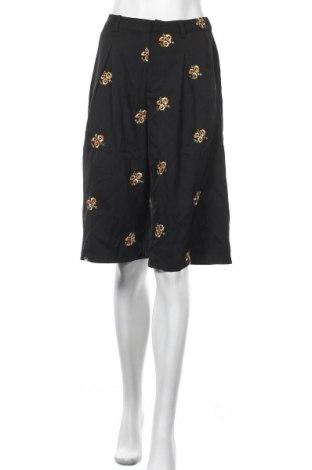 Γυναικείο κοντό παντελόνι Y.A.S, Μέγεθος M, Χρώμα Μαύρο, 96% πολυεστέρας, 4% ελαστάνη, Τιμή 17,78€